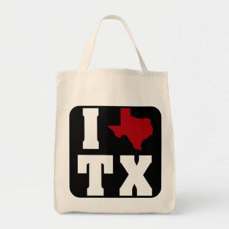 My heart belongs to Texas (sq) 2 Tote Bag