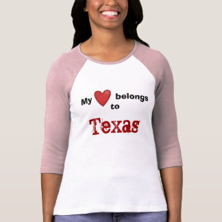 My Heart Belongs to Texas T-Shirt