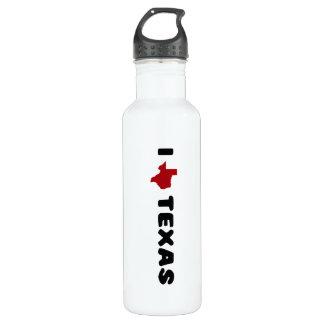 My heart belongs to Texas Water Bottle