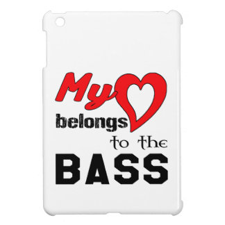 My heart belongs to the bass. cover for the iPad mini