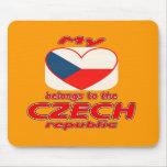 My heart belongs to the Czech republic Mouse Pad