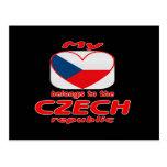 My heart belongs to the Czech republic Postcard