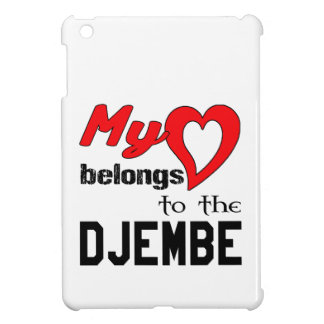 My heart belongs to the djembe. iPad mini cover