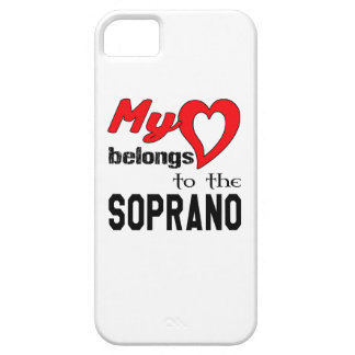 My heart belongs to the Soprano. iPhone 5 Case