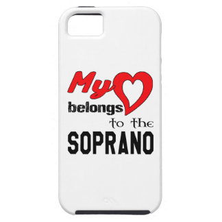 My heart belongs to the Soprano. iPhone 5 Cover