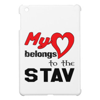 My heart belongs to the Stav. Cover For The iPad Mini