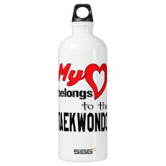 My heart belongs to the Taekwondo. SIGG Traveler 1.0L Water Bottle