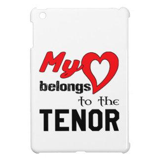 My heart belongs to the Tenor. iPad Mini Covers