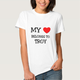 My Heart Belongs to Troy T Shirt