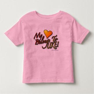 My Heart Belongs to UKE Designer Child's T T-shirt