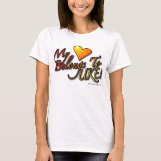 My Heart Belongs to UKE Designer T T-Shirt
