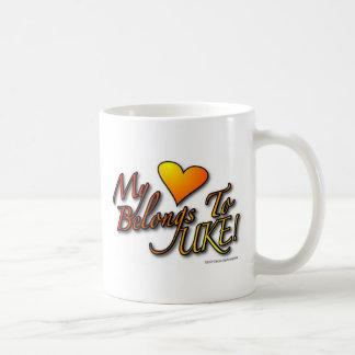 """My Heart Belongs To UKE"" Mug"