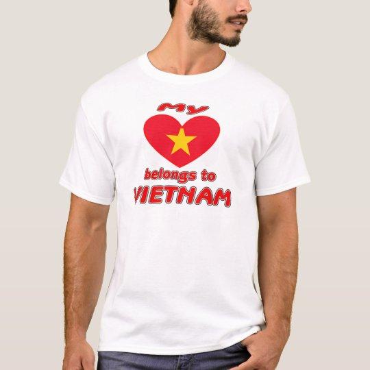 My heart belongs to Vietnam T-Shirt