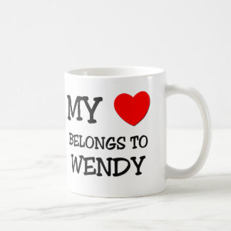 My Heart Belongs To WENDY Coffee Mug