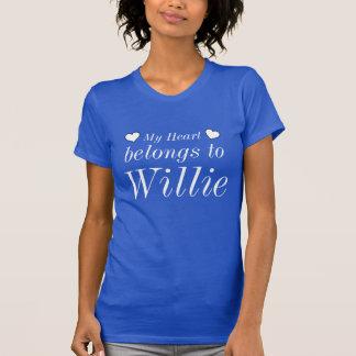 My heart belongs to Willie T Shirt