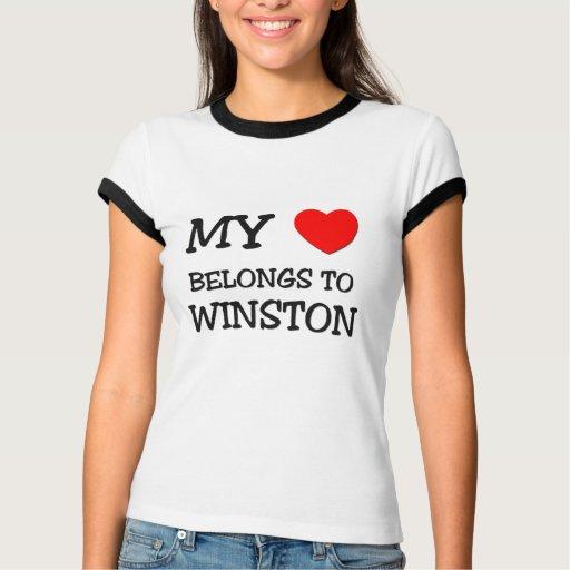 My Heart Belongs to Winston Tshirt