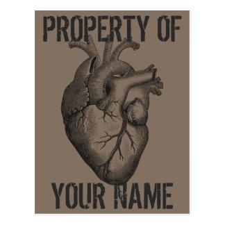 My Heart Belongs To You Postcard