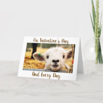 """**MY HEART BLEASTS"""" ON ***VALENTINE'S DAY*** 4 U HOLIDAY CARD"""