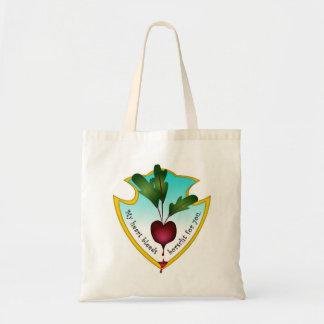 My heart bleeds borsht for you canvas bags