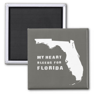 My heart bleeds for Florida after hurricane Irma Magnet