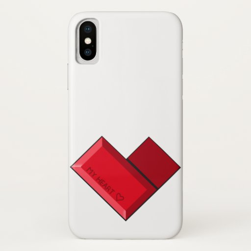 my heart iPhone x case
