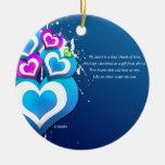 My Heart Christmas Tree Ornament