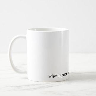 my heart? coffee mug
