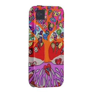 My Heart Flowers For You Tree Of Life iPhone 4/4S Cover