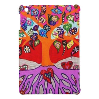 My Heart Flowers For You Tree Of Life Case For The iPad Mini