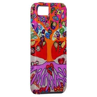 My Heart Flowers For You Tree Of Life iPhone SE/5/5s Case