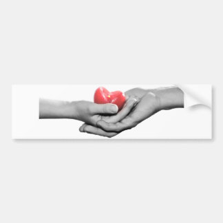 My heart for you. bumper sticker