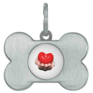 My heart for you. pet ID tags