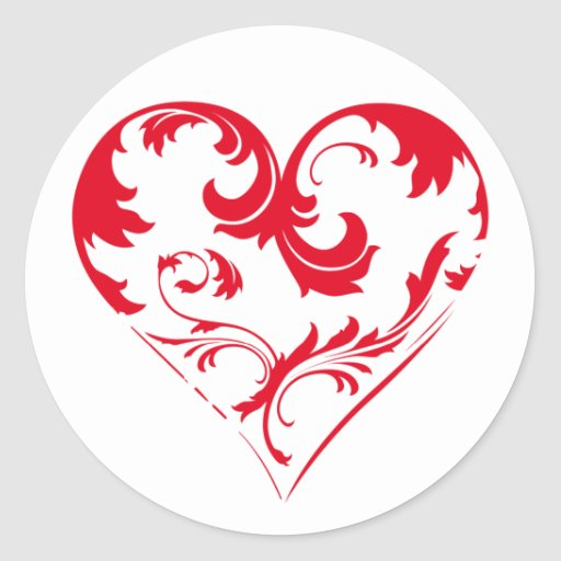 My Heart for You Stickers