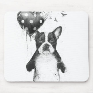 My heart goes boom mouse pad