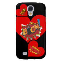 My heart goes Boom! Samsung S4 Barely There Case