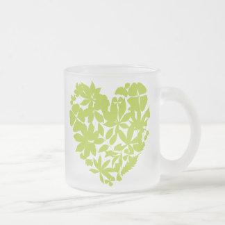 My Heart Goes Green Mug