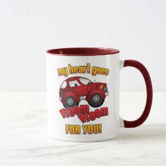 My Heart Goes Vroom Vroom For You! Mug