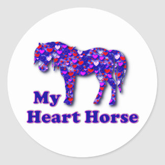 My Heart Horse Stickers