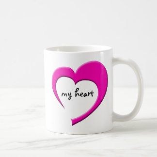 My Heart II mug (pink)