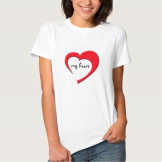 My Heart II T-Shirt (red on light)