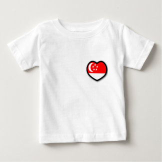 My Heart In Singapore Infant T-shirt