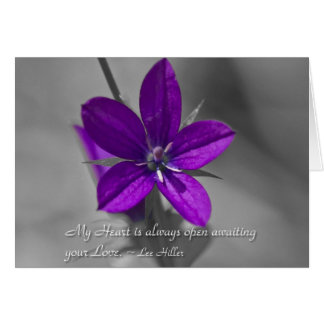 My Heart is always open... Greeting Card