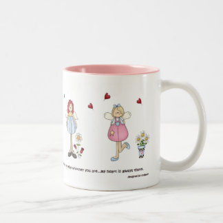 My Heart is Always There Angels Mug