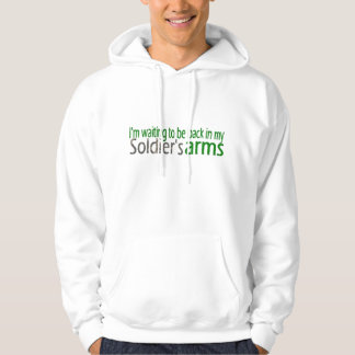 My Heart is Deployed-Wife Hooded Sweatshirt