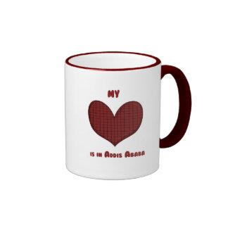 My Heart is in Addis Ababa Coffee Mug