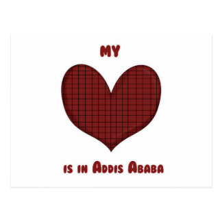 My Heart is in Addis Ababa Postcard