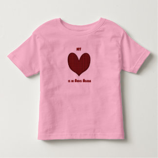 My Heart is in Addis Ababa Toddler T-shirt