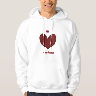 My Heart is in Africa Hoodie
