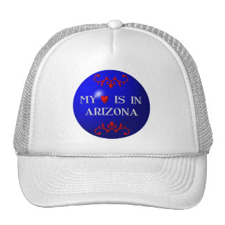 My heart is in Arizona Mesh Hat
