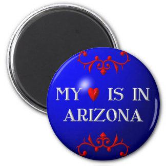 My heart is in Arizona Magnet